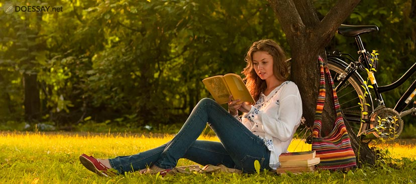 Reading Person